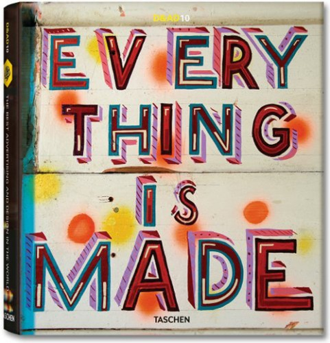 Everything is Made: a book cover designed by Bob and Roberta Smith.